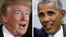 Trump accuses Obama of Russia meddling claim inaction