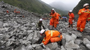 More than 100 missing after deadly China landslide