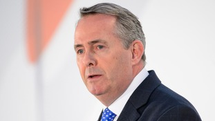 Liam Fox said leaving the EU was an opportunity for Britain to 'step up' trade commitments.