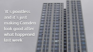 Defiant residents told they 'must leave' London tower block