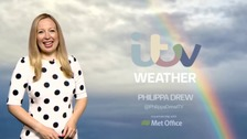 Philippa has the latest weather