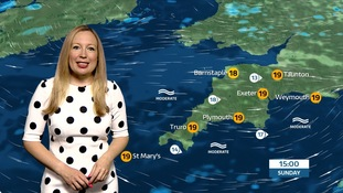 Patchy rain & drizzle with a cloudy start