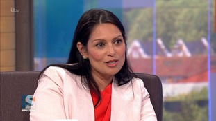 Patel backs PM on Brexit and election call amid reports of future leadership bid