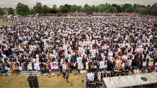 106,000 have attended the Eid celebration in Small Heath, Birmingham