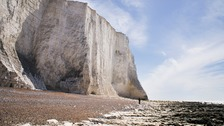 Woman dies in accident at cliffs on the Sussex coast