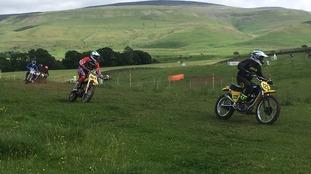 British Classic Motocross Championships.