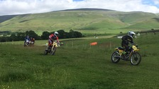 Motocross riders roar round Eden Valley