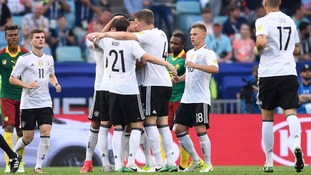 Germany through to Confederations Cup semi-finals after 3-1 win over Cameroon