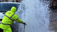 NI Water said even the 'vandal' proof hydrant lids they use can be broken with enough effort.