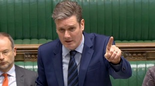 "Labour's Kier Starmer said it would be ""catastrophic"" not to get a deal."