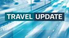 The M6 in Warwickshire is closed southbound