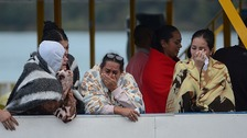 At least nine dead as tourist boat capsizes in Colombia