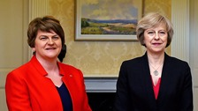 Tory-DUP deal 'imminent' as Foster and May resume talks