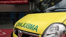 West Midlands Ambulance Service flag dangerous locations