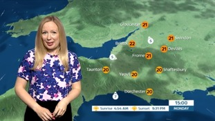 Mostly dry and cloudy with mild temperatures