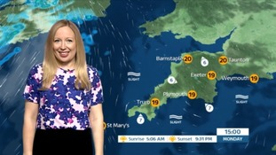 Dry day with bright and sunny spells