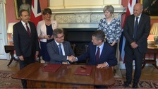 DUP sign deal to support minority Conservative government