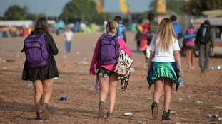 Power surge as Glastonbury goers all shower at the same time