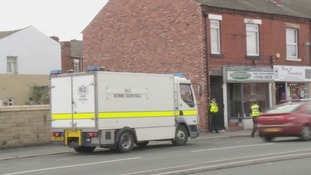 Bomb disposal experts back in Wakefield after chemicals found