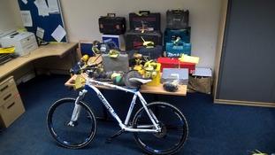 Items seized after burglary in Jesmond