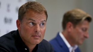 Crystal Palace announce former Ajax & Inter Milan coach Frank De Boer as their new manager