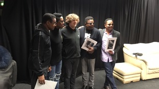 The Jacksons and Chris Baker