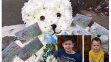Funeral held for young brothers found dead by police