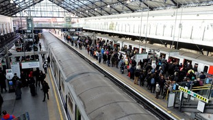 Commuters facing more delays on the way home.