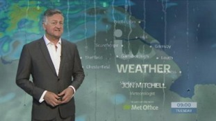 Tuesday's early morning forecast