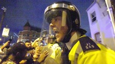 14 police officers injured in protests over death of Edir Da Costa.