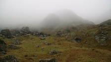 Under Dove Crag fell