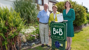 Accommodation providers in Dumfries & Galloway receive 4-star awards
