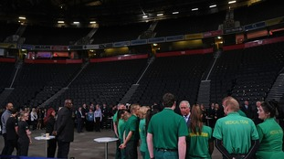 A moving experience in the foyer of Manchester Arena during royal visit