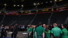 A moving experience in Manchester Arena during royal visit