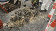 Belfast sewer problem 'only tip of the fatberg'