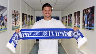 Peterborough United sign Reading goalkeeper on loan