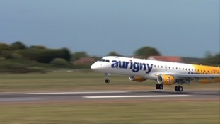 Aurigny cancelled a number of flights yesterday and over the weekend.