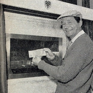 Actor Reg Varney was the first person to ever use a cash machine.