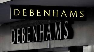 Debenhams has warned of a profit slump