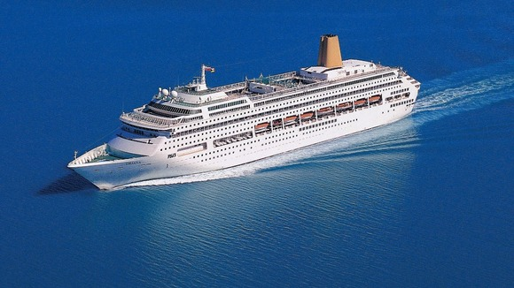 Norovirus Outbreak On Oriana Cruise Ship Meridian Itv News