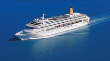 The Oriana cruise liner