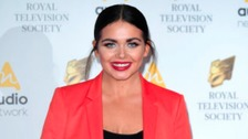 Scarlett Moffatt at the Royal Television Society Awards