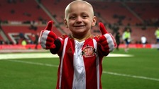 Bradley Lowery was Sunderland mascot and became friends with Jermain Defoe
