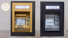 The cash machine turns 50 today - world's first was in north London