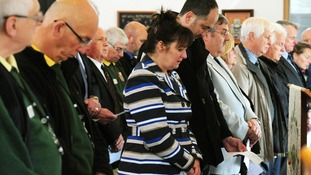 A service was held today at the National Memorial Arboretum.