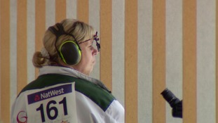 Nikki Trebert and Rebecca Margetts now have three shooting medals.