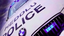 Police hunt burglars in Newport