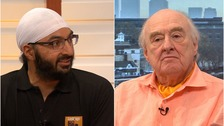 Monty Panesar and Henry Blofeld are taking part in the charity event