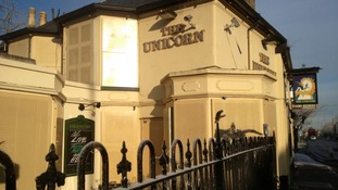The Unicorn in Cherry Hinton, Cambridge, is one pub that's suffered