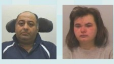 Zahid Zaman and Ann Corbett have been jailed for life for the murder of Jimmy Prout